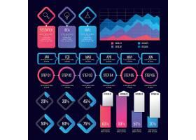 彩色统计图表设计