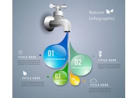 水龙头信息图表设计