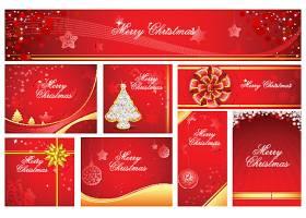 圣诞卡片背景元素