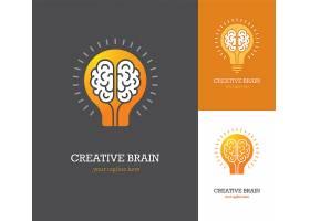 创意灯泡logo设计