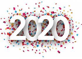 彩色背景2020素材