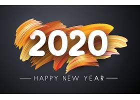 创意颜料背景2020素材