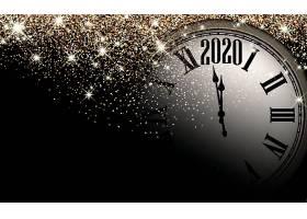 创意时钟2020素材