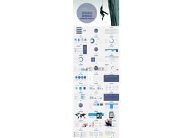 项目评估营销策划书PPT模板
