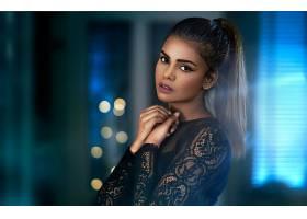 1055287,女人,模特,女孩,妇女,深度,关于,领域,棕色,眼睛,黑发女