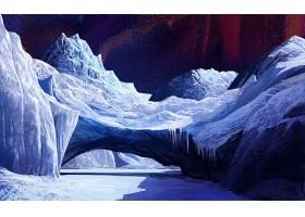 239575,地球,冬天的,艺术的,冰,水,曙光,北极星,黑暗,刷,壁纸