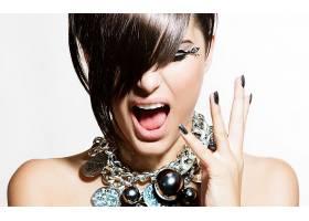 859839,女人,脸,化妆品,头发,壁纸