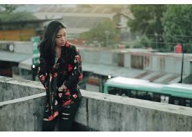 896942,女人,模特,妇女,亚洲的,印尼的,黑色,头发,壁纸