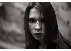 990516,女人,脸,妇女,模特,女孩,黑色,白色,壁纸