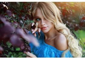 1047439,女人,模特,长的,头发,妇女,女孩,白皙的,蓝色,眼睛,壁纸