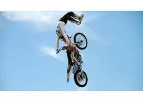 运动,摩托车越野赛,本田汽车,自行车,杂技,壁纸图片