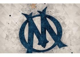 运动,奥林匹克,de,马赛,足球,俱乐部,标识,象征,壁纸(2)