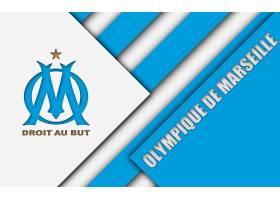 运动,奥林匹克,de,马赛,足球,俱乐部,标识,象征,壁纸(7)