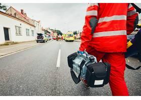 救护人员摄影