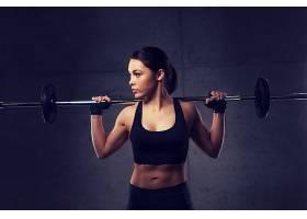 健身的女人