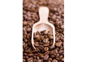 木勺与咖啡豆