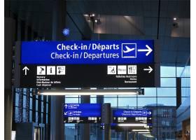 机场导视牌