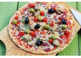 海鲜大杂烩披萨