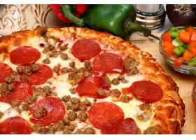 肉沫芝士披萨