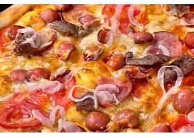 牛肉海鲜披萨