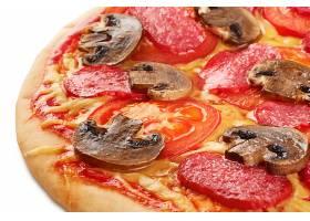 蘑菇番茄披萨