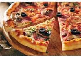 西式海鲜披萨