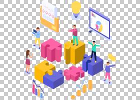 2.5D科技元素免抠插画 (231)