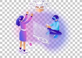 2.5D科技元素免抠插画 (236)
