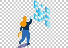 2.5D科技元素免抠插画 (26)