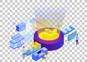 2.5D科技元素免抠插画 (3)