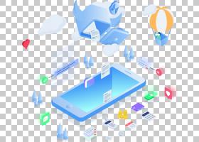 2.5D科技元素免抠插画 (35)