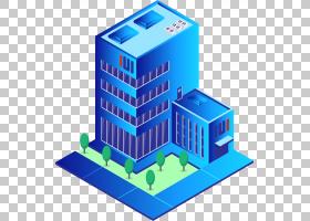 2.5D科技元素免抠插画 (36)