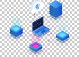 2.5D科技元素免抠插画 (43)