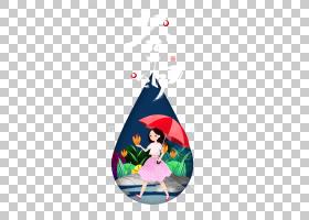 谷雨节气免抠背景素材 (91)