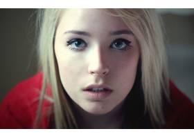 人,面对,眼睛,美女,金发,肖像,蓝眼睛,看着观众,模特22828