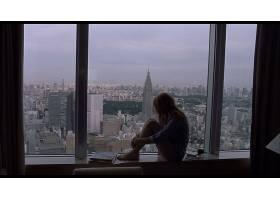 人,迷失在翻译,电影,斯嘉丽约翰逊,市容,美女,模特,东京,窗口,望