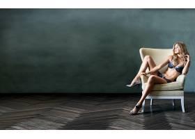 人,金发,女用贴身内衣裤,美女,模特,椅子,腿70273