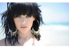 人,美女,面对,梅利莎克拉克,户外的女人,箍耳环51470