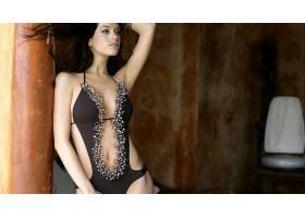 人,金史密斯,美女,黑发,游泳衣,胳膊,腋下,模特50095