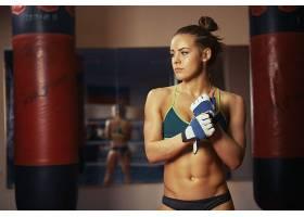 人,运动服,美女,肚皮,脖子,枯瘦,拳击,健身模特,Valeria Guznenko