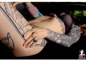 人,黥,女孩,胸罩,戒指,美女,模特,黑色胸罩,手26365