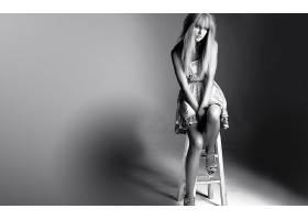 人,泰勒斯威夫特,名人,金发,美女,歌手,椅子,坐在,单色68151