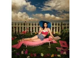 人,美女,凯蒂佩里,酿酒,黑发,短裤,海报,歌手,帽子,花园15689