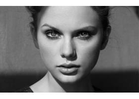 人,泰勒斯威夫特,美女,单色,名人,面对,肖像70392