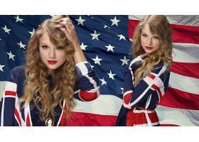 人,泰勒斯威夫特,美女,美国国旗,金发64807