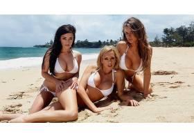 人,海滩,一群美女,美女,Taylor Vixen,布雷特罗西,艾米莉艾迪生42