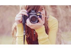 人,相机,美女,摄影,黑发,宾得,涂指甲,户外的女人41696