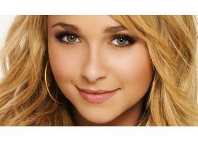 人,海登潘妮蒂尔,面对,名人,微笑,美女,金发,肖像,绿眼睛62868