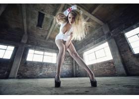 人,护士,美女,金发,腿,胸部,连裤袜14712
