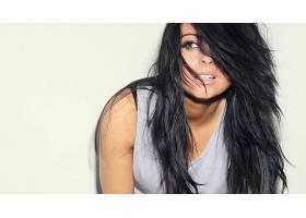 人,美女,模特,黑发,长发62330